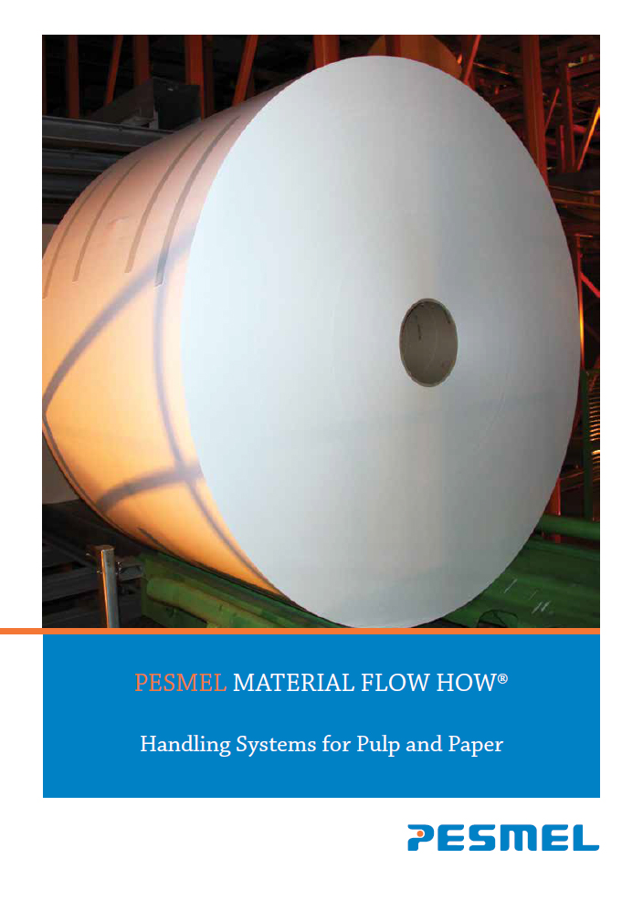 Handling systems for pulp and paper